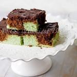 Choco-Mint Marble Brownies