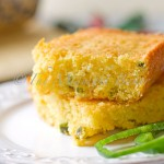 Poblano and Cheese Cornbread