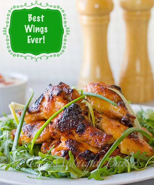 Game Day Chicken Wings #SuperBowl #snacks #appetizers #wings
