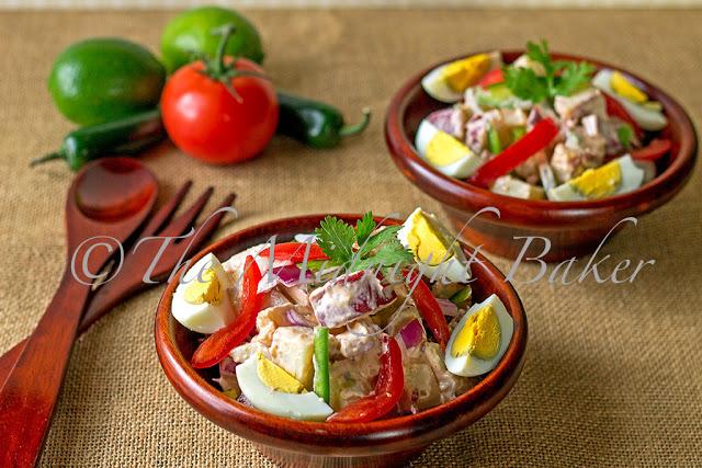 Mexicali Chipolte Potato Salad