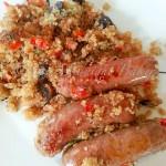 Sausage and Quinoa Risotto