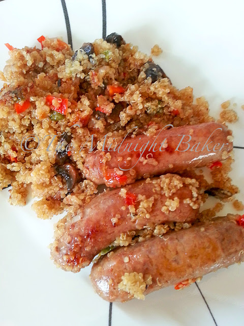 Sausage and Quinoa Risotto