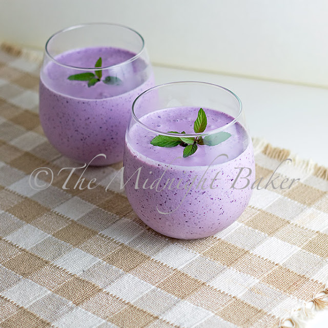 Blueberry Creme Smoothie