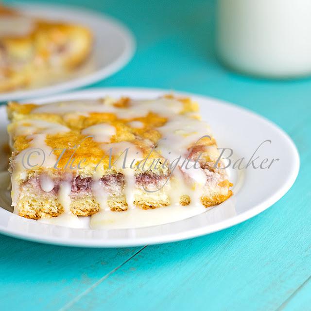 Raspberry Cheese Danish