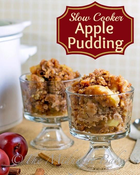 Apple Dapple Pudding | bakeatmidnite.com | #SlowCooker #CrockPot #desserts #SlowCookerDesserts