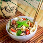 Vegan Peanut Noodles: Meatless Monday
