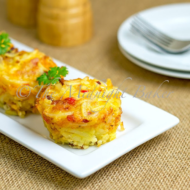 Bacon Hashbrown Muffins