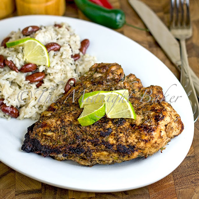 Global Grub's Jerk Chicken and Coconut Rice Meal Kit