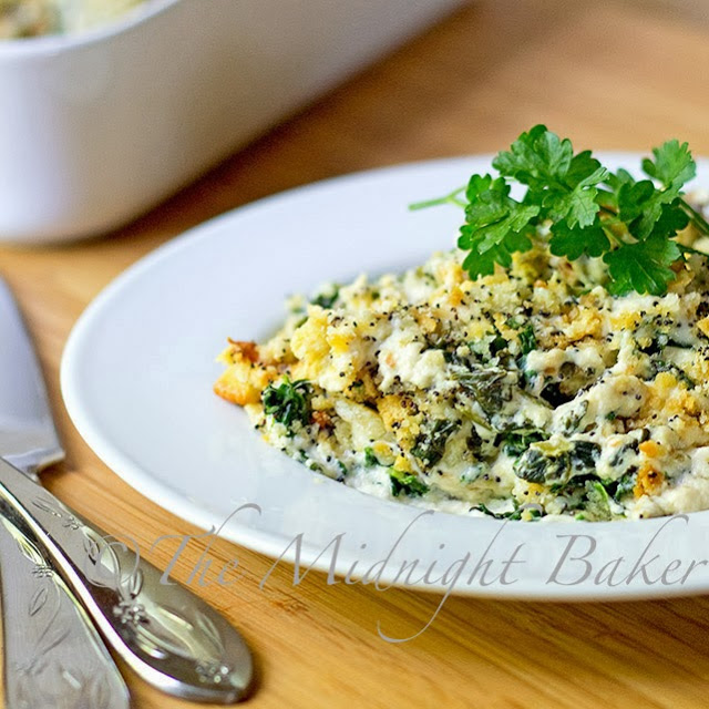Poppy Chicken Florentine