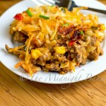 Mexicali Hash Brown Taco Casserole