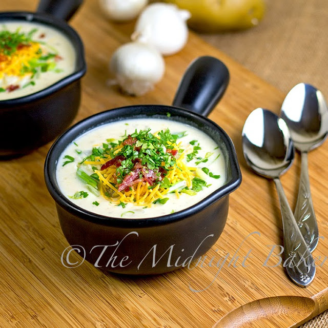 Totally Loaded Potato Soup