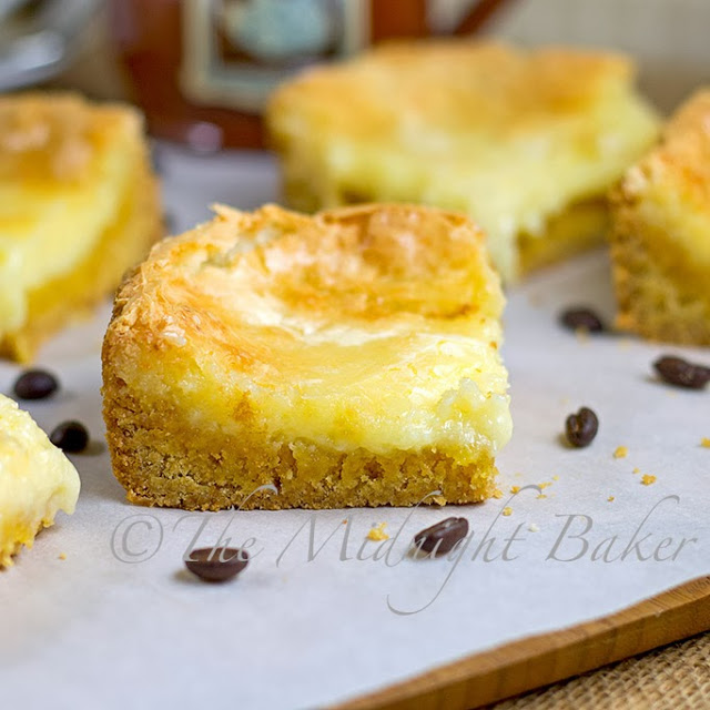 5 Ingredient Cheesecake Bars (chess bars)