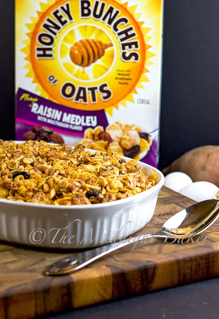 Praline Sweet Potato Crunch with Post Honey Bunches of Oats