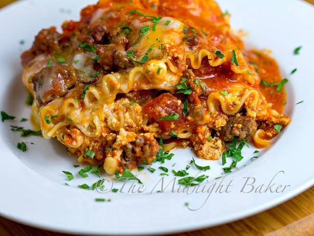 Holiday Lasagna #casseroles #ChristmasEveMeals #BuffetFavorites #lasagna #pasta