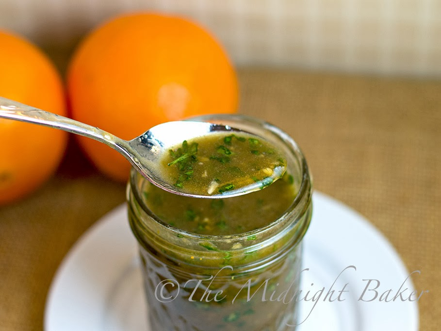 Orange Cilantro Dressing #JustAddTyson #ad #cbias #OrangeCilantroDressing