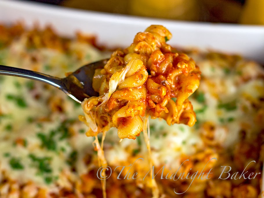 Cheesy Sausage Pasta Bake #ItalianFood #LasagnaRecipe #PastaBake #PastaCasseroleRecipes