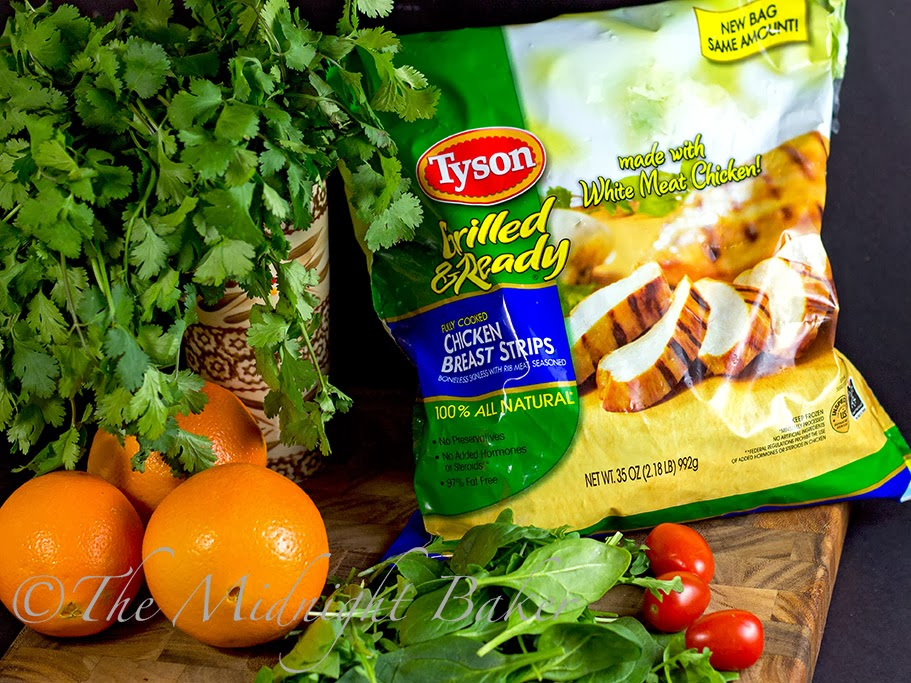 Tyson Grilled & Ready® #JustAddTyson #ad #cbias #shop #ChickenSaladRecipe