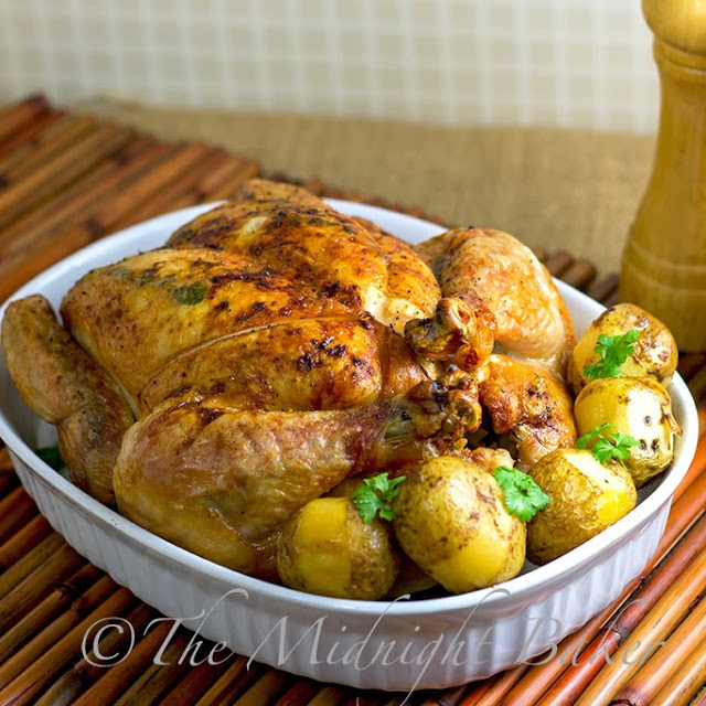 Citrus Thyme Roast Chicken
