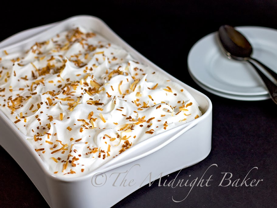 Coconut Cream Pie Dessert #NoBakeDessert #CoconutCreamPie #DessertRecipes