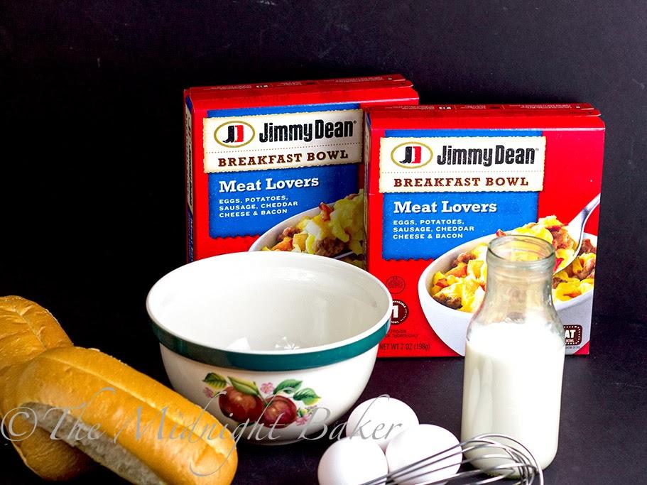 Jimmy Dean Meat Lover's Breakfast Bowls #EasyBreakfasts #FrozenBreakfasts #RedboxBreakfasts #PMedia #ad
