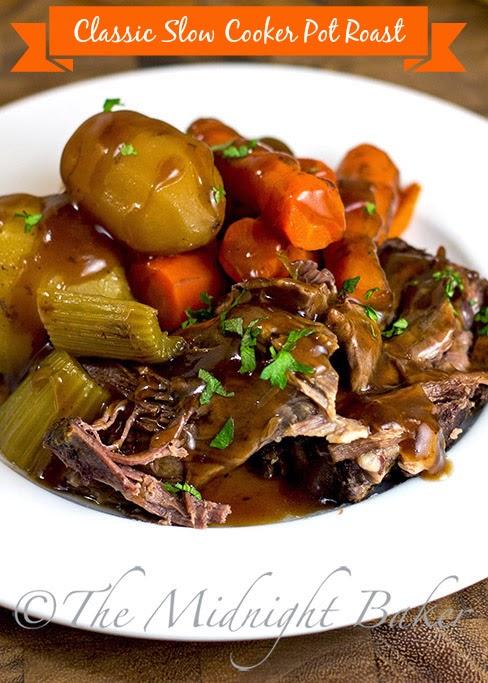 Slow Cooker Classic Pot Roast #SlowCooker #CrockPot #PotRoastRecipe