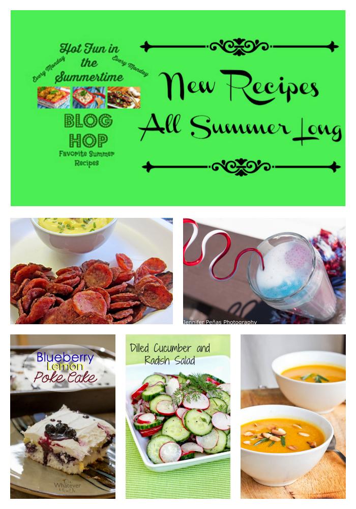 Summer Blog Hop Party #summerrecipes