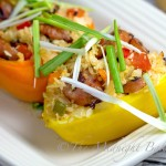 Spanish Style Stuffed Peppers