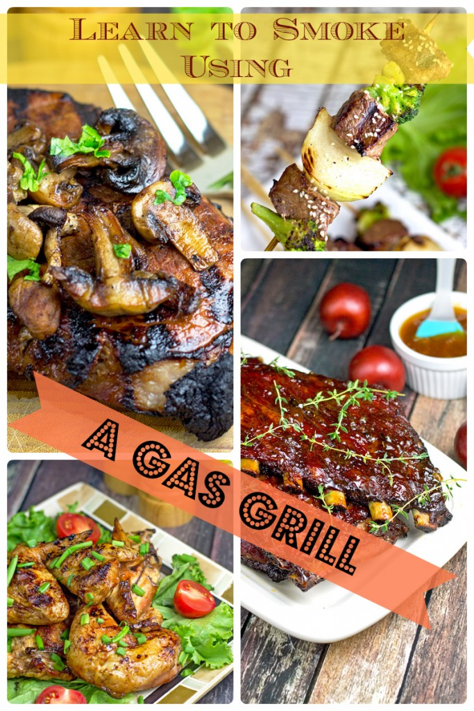 How To Smoke In Your Gas Grill #smoked food #gasgrill #smoker