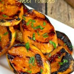 Maple Cinnamon Orange Sweet Potatoes
