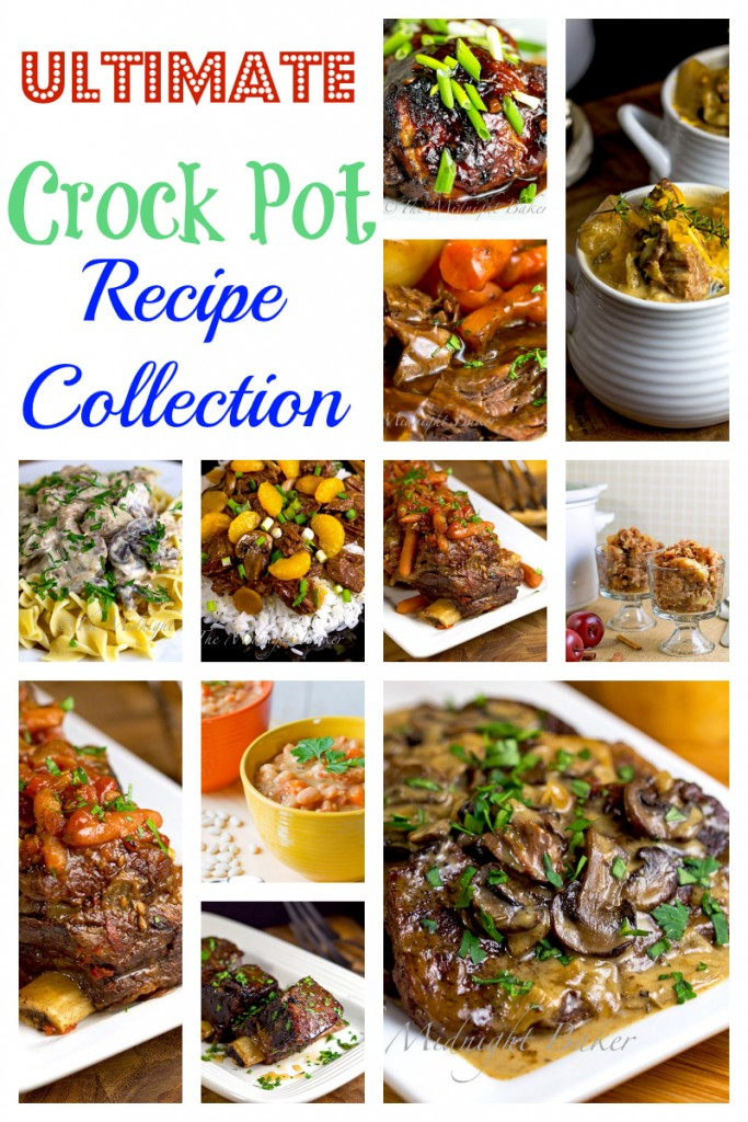 Ultimate Crock Pot Recipe Collection | bakeatmidnite.com | #crockpotrecipes #slowcookerrecipes