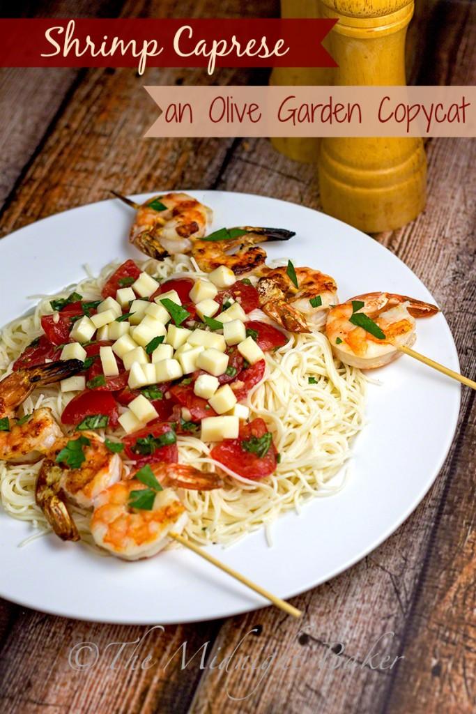 Shrimp Caprese Recipe