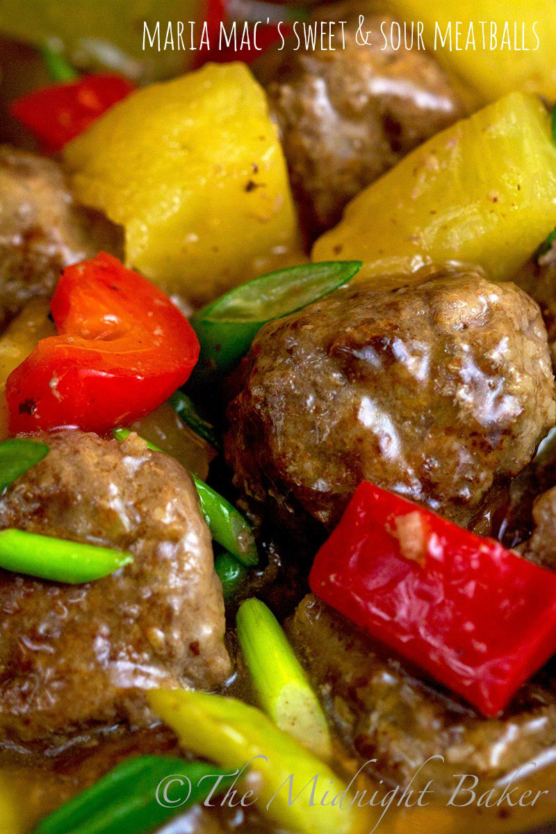 These sweet and sour meatballs double as a main course served over rice or an excellent appetizer