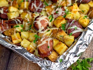 Kielbasa Potato Bake The Midnight Baker