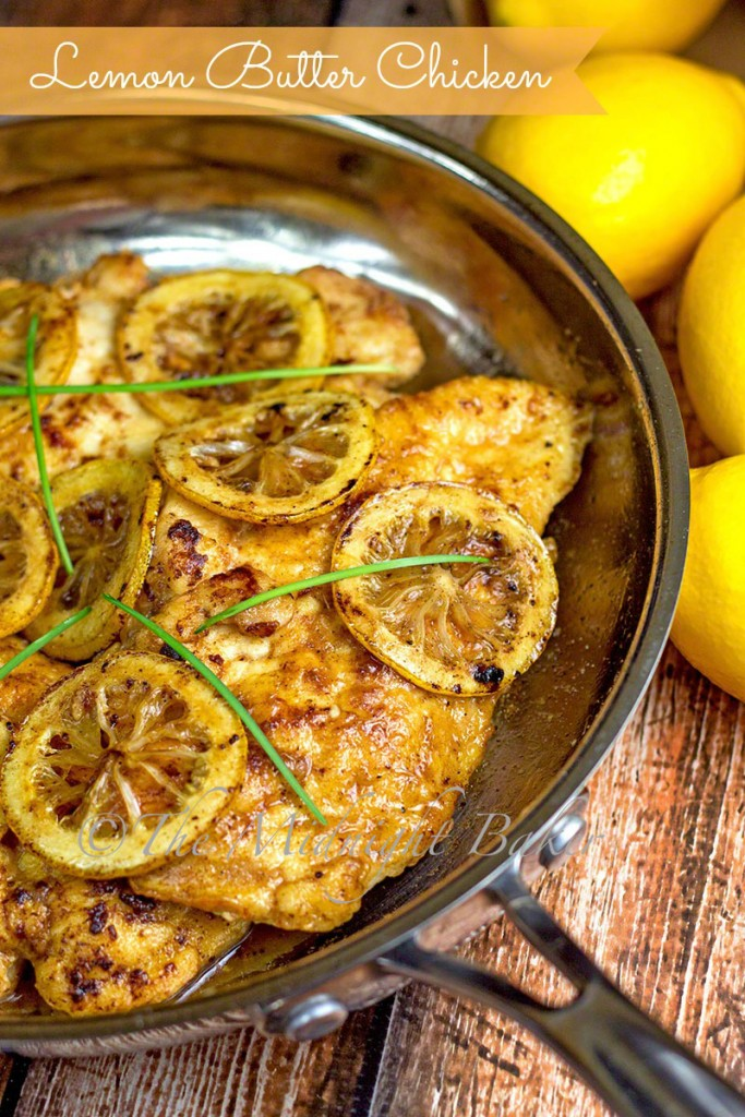 Lemon Butter Chicken | bakeatmidnite.com | #chicken #lemon #30MinuteMeals