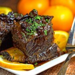 Slow Cooker Fruited Short Ribs
