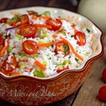 Fiesta Rice Salad with House Special Dressing
