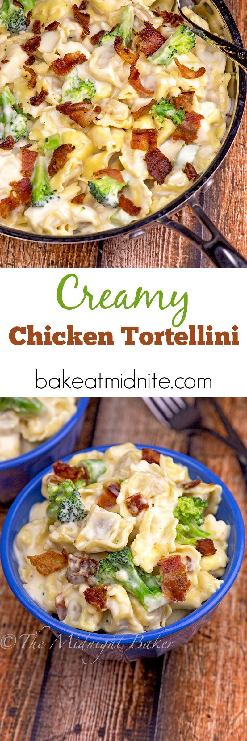 Creamy Chicken Tortellini