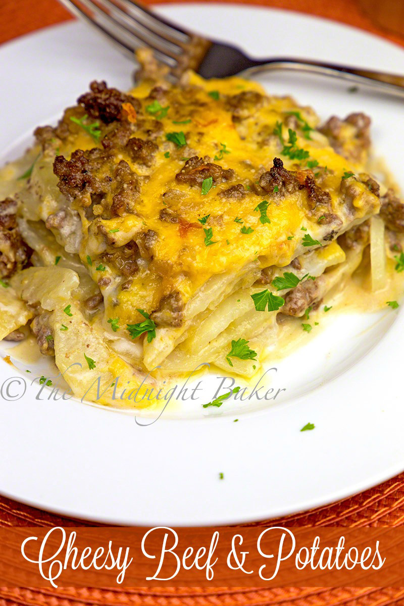 Cheesy Beef & Potatoes