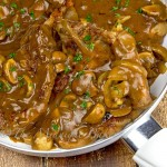 Pork Chops in Onion Mushroom Gravy