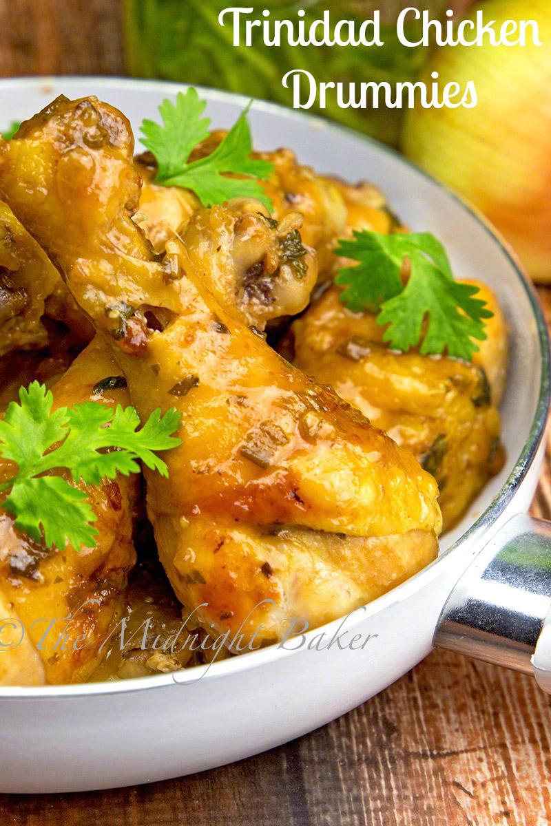Trinidad Chicken Drummies