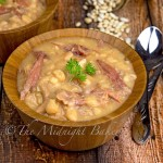 Slow Cooker Ham and Bean Hot Pot