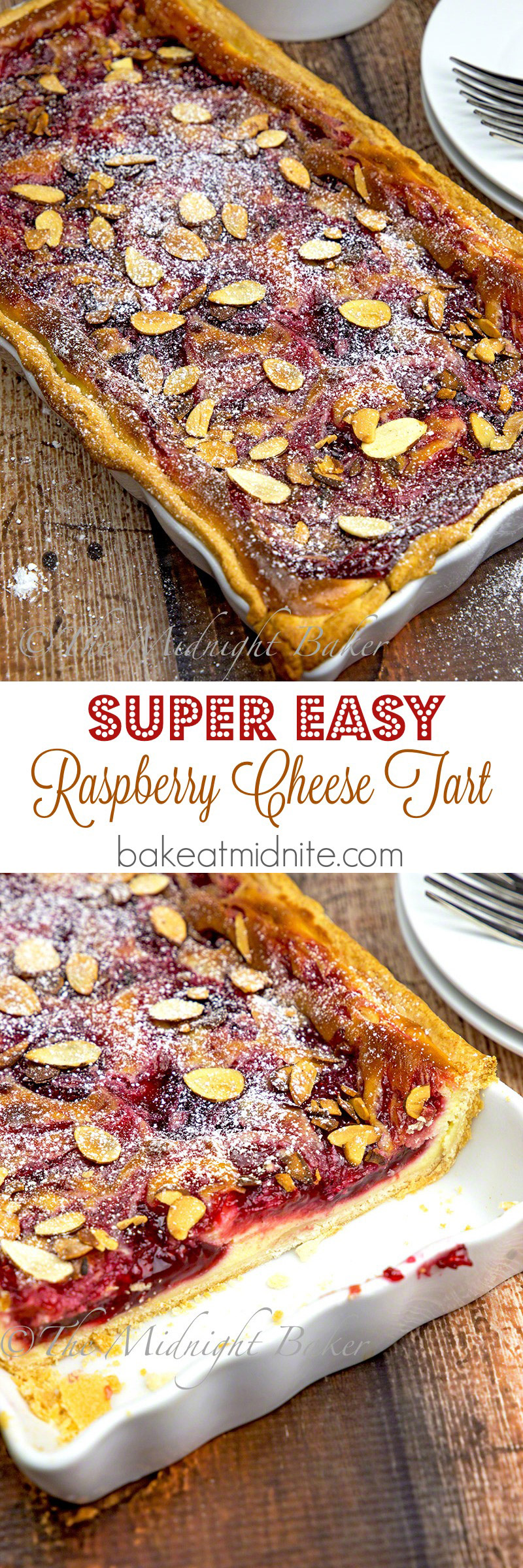 Raspberry Cheese Tart