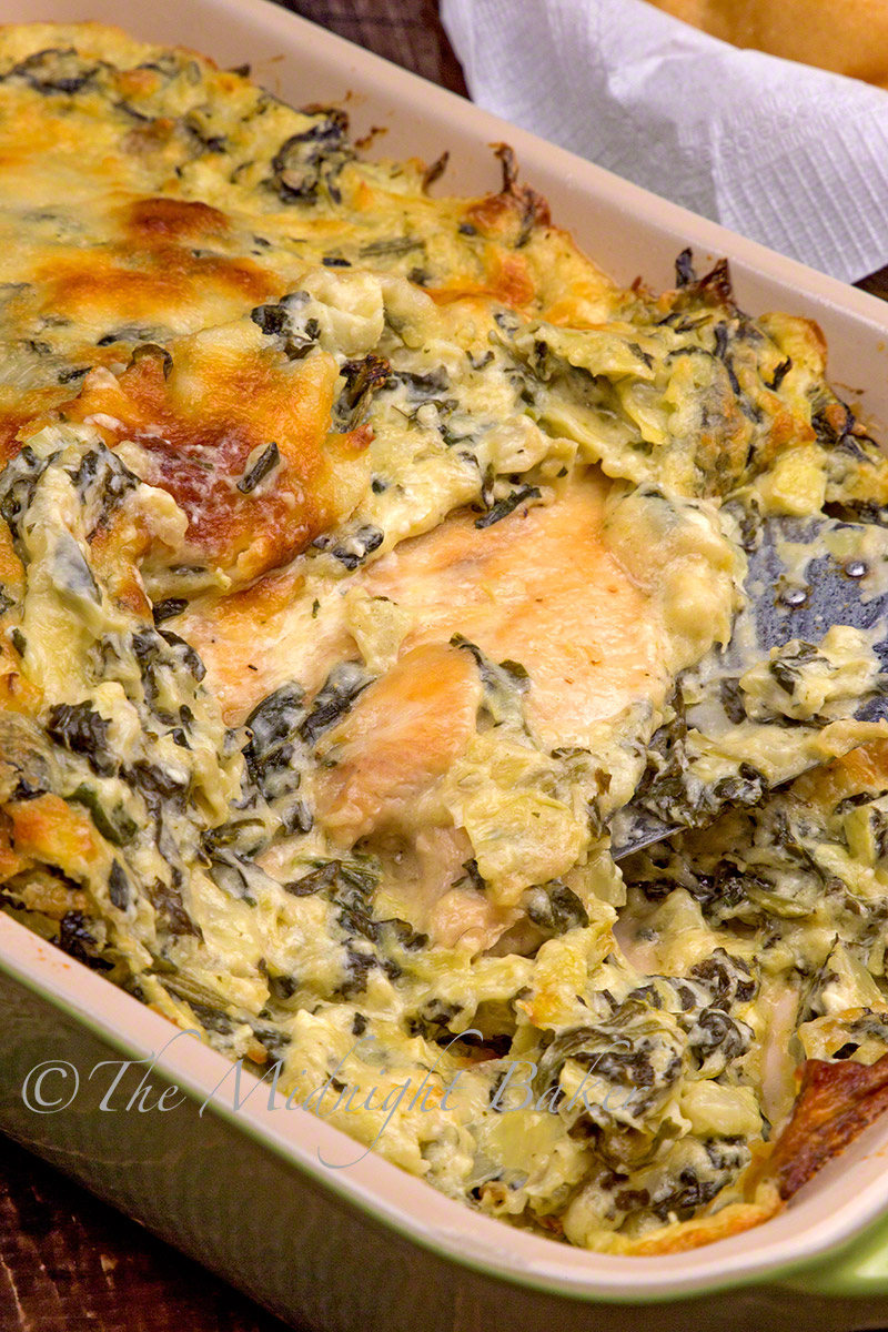 how to make hot spinach dip