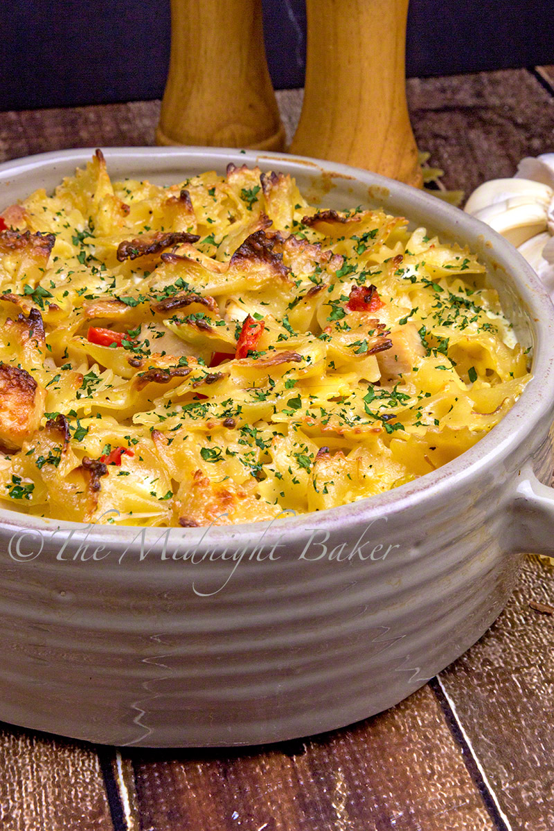 Italian chicken casserole the midnight baker easy to make italian flavored chicken casserole forumfinder