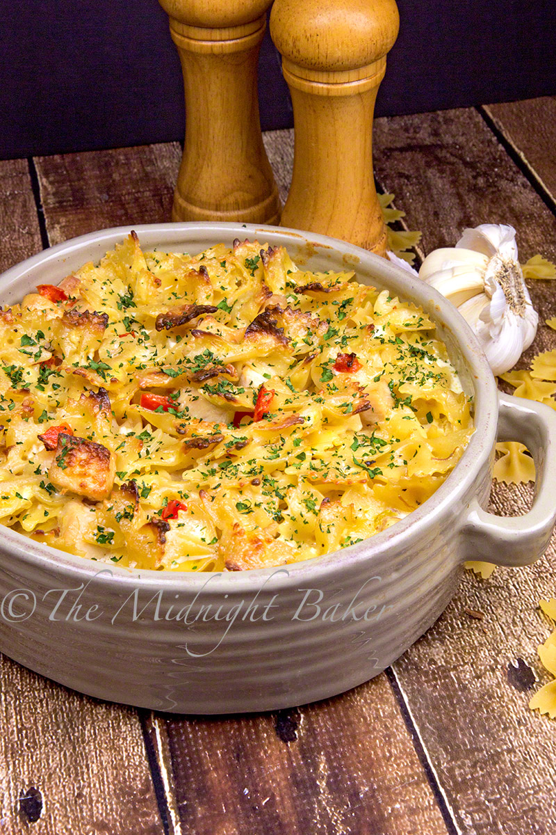 Easy to make Italian flavored chicken casserole