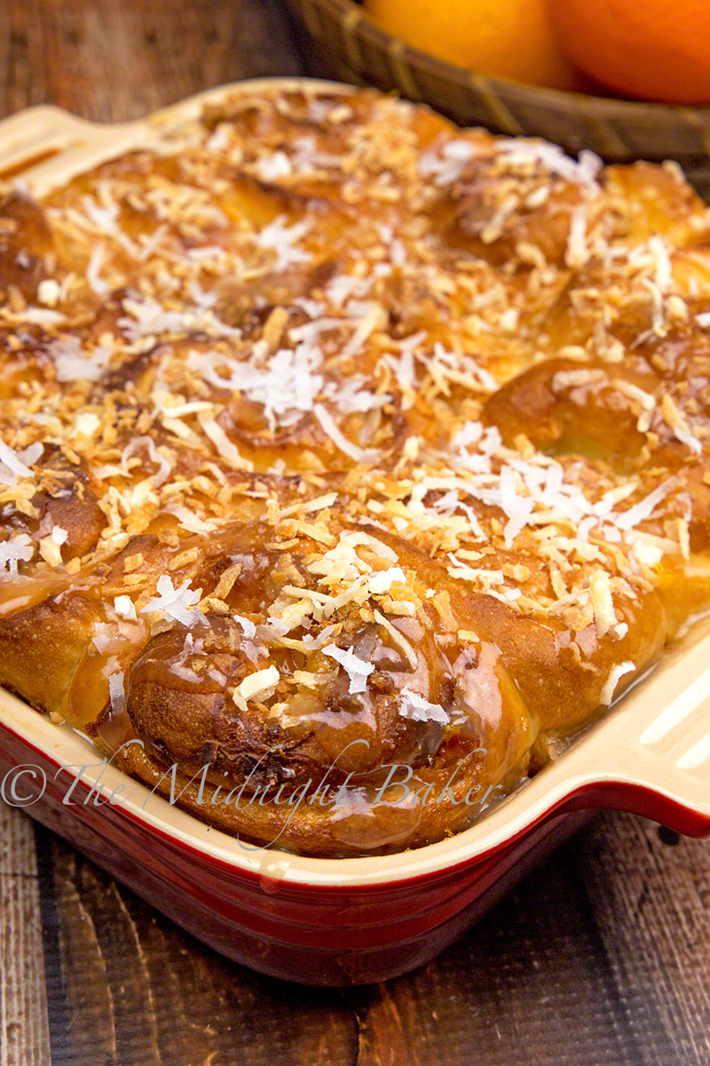 Easy peasy sweet rolls for breakfast and you won't believe the main ingredient!