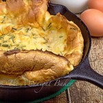 Yorkshire pudding is a British staple with a Sunday roast beef.