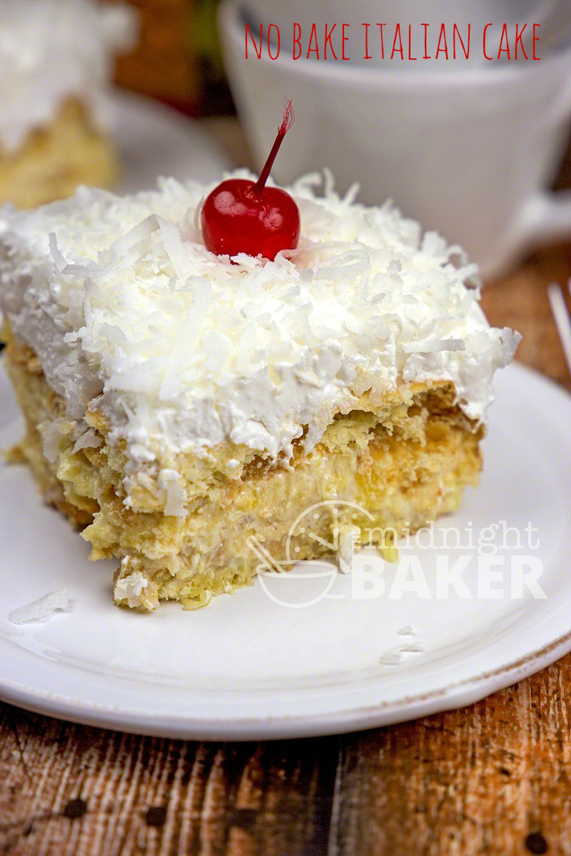 Recipe For Italian Cream Cake With Pineapple