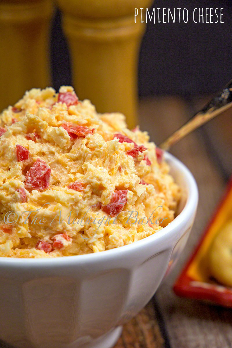 "Often called ""southern caviar,"" pimiento cheese is great on crackers and also makes a wicked grilled cheese!"