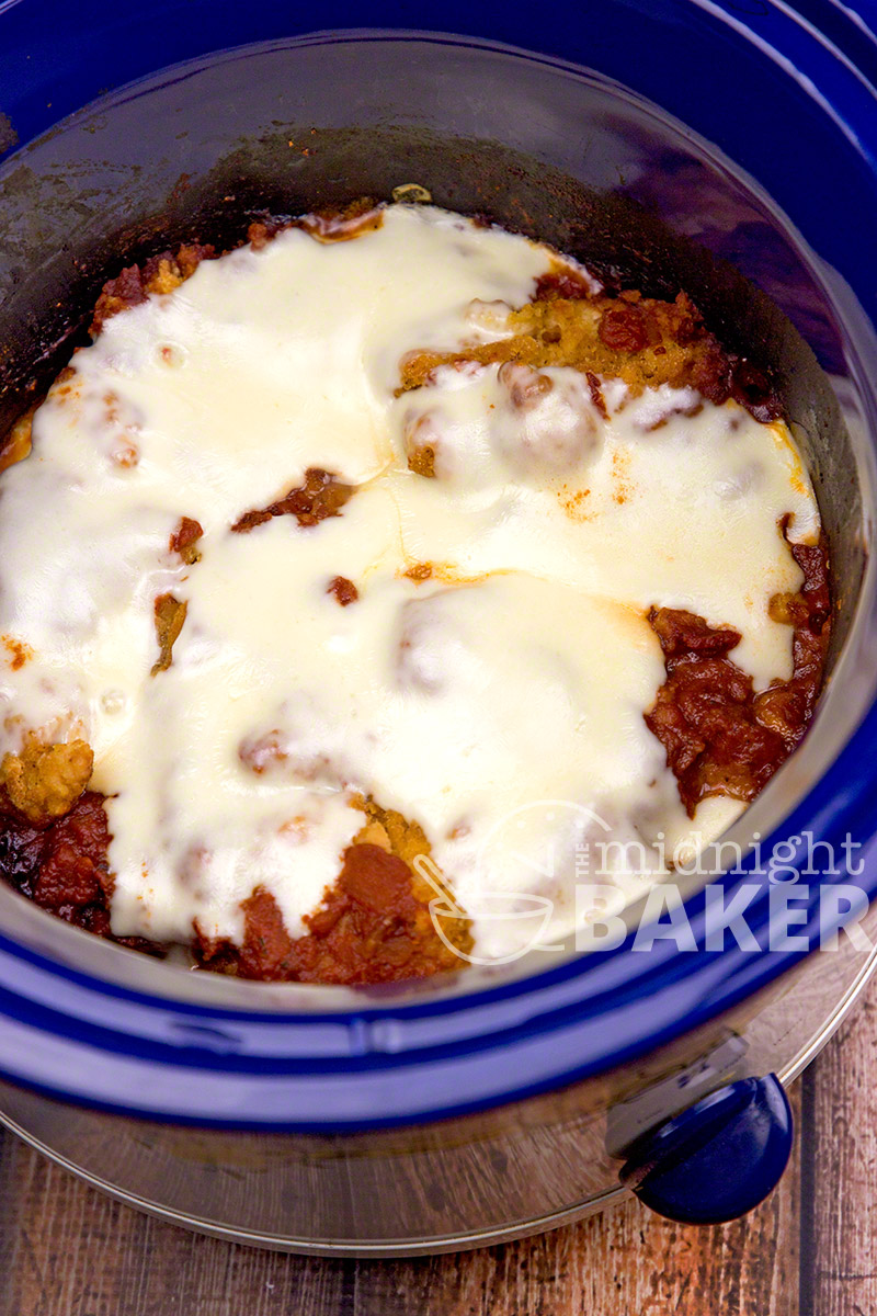 Slow cooker chicken parmesan the midnight baker everyones favorite italian dish chicken parmesan adapted to the crock pot forumfinder Choice Image